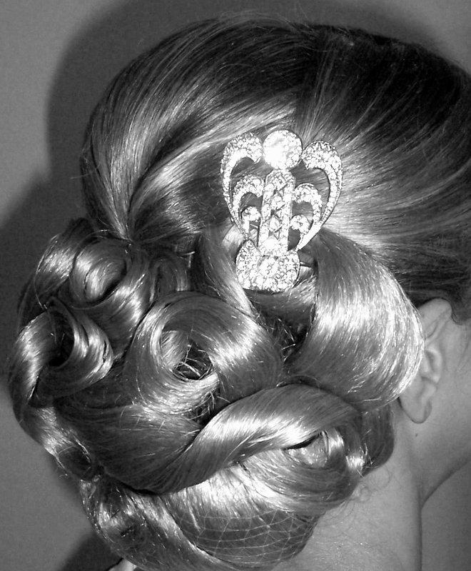 Vintage Art Deco Hair