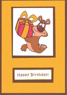 Have a BEARY Happy Birthday!