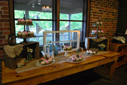 Country Cupcake Tablescape