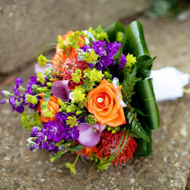 Summer Mixed Bridal Bouquet