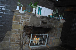 Country Mantle Decor