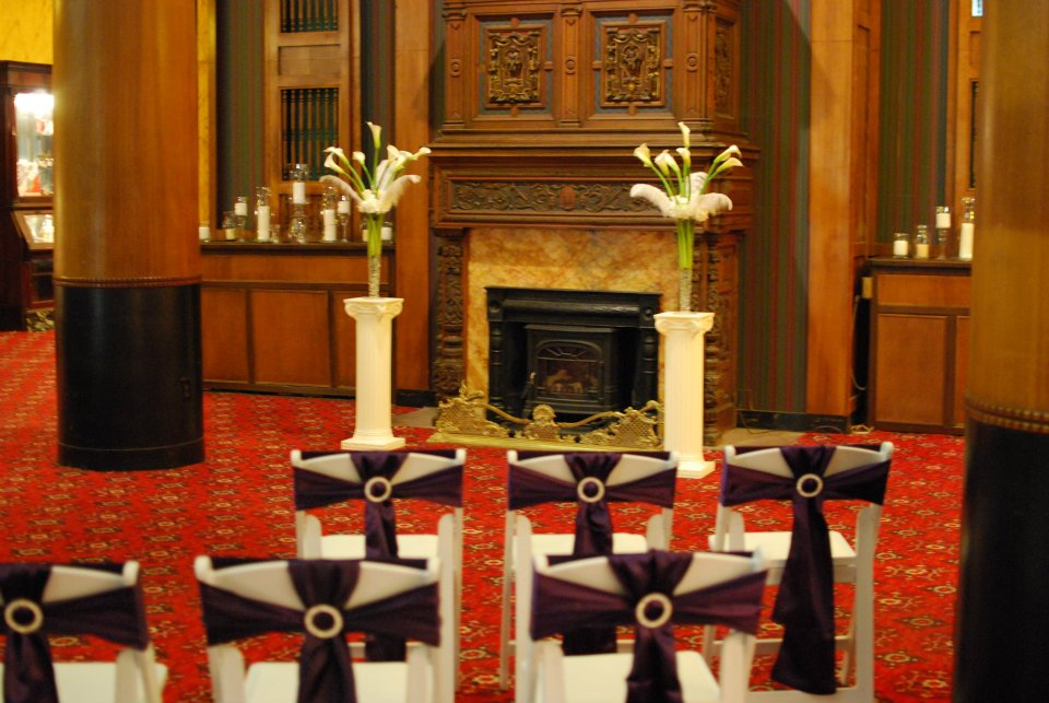 Intimate Wedding Set-Up