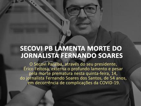 Secovi lamenta morte do jornalista Fernando Soares