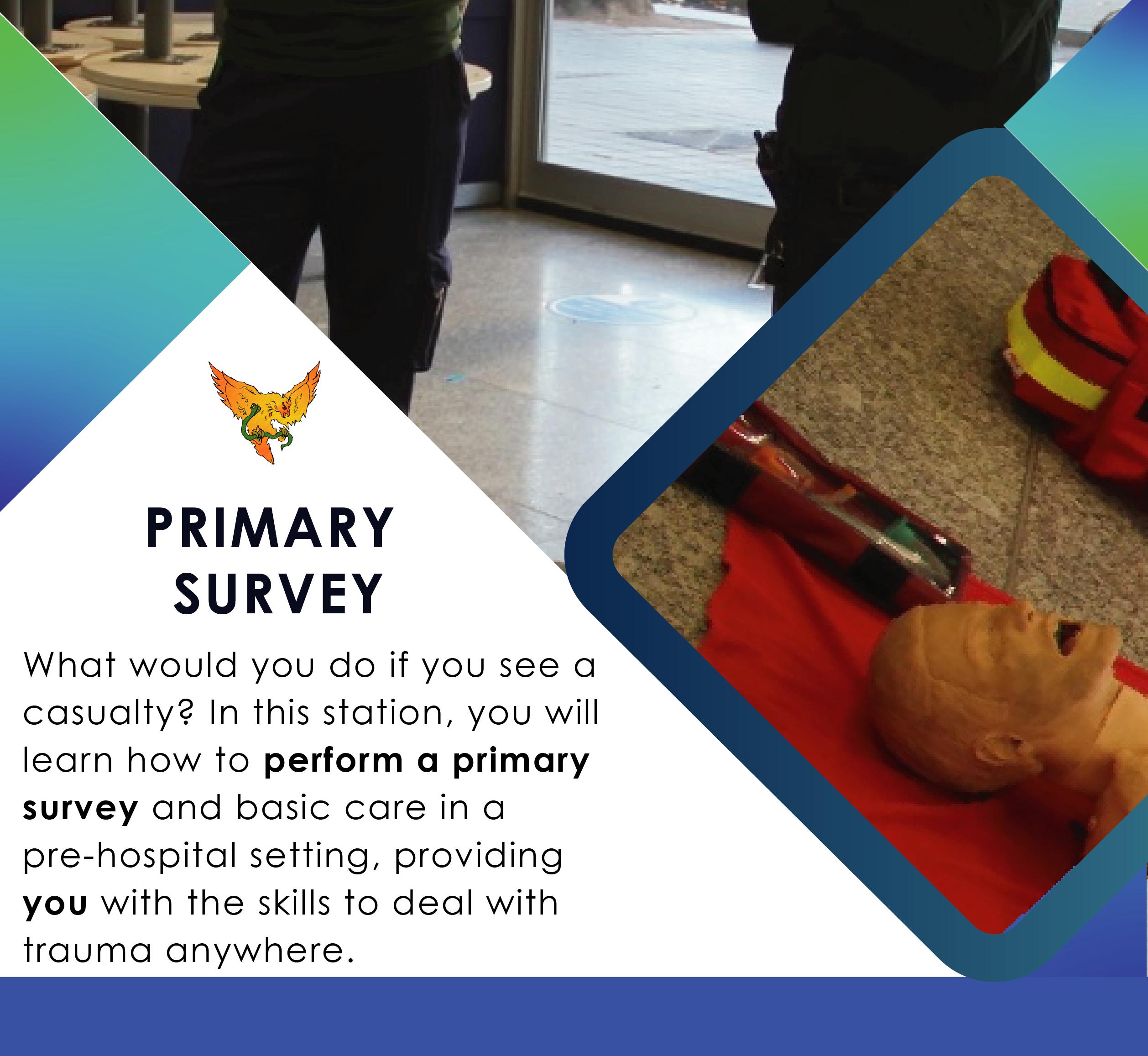 Primary Survey Square