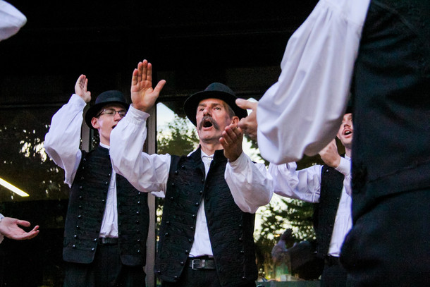Hungarian Folk Dancers