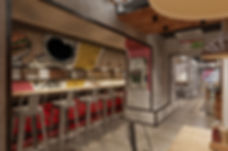 Бургерная, основной зал