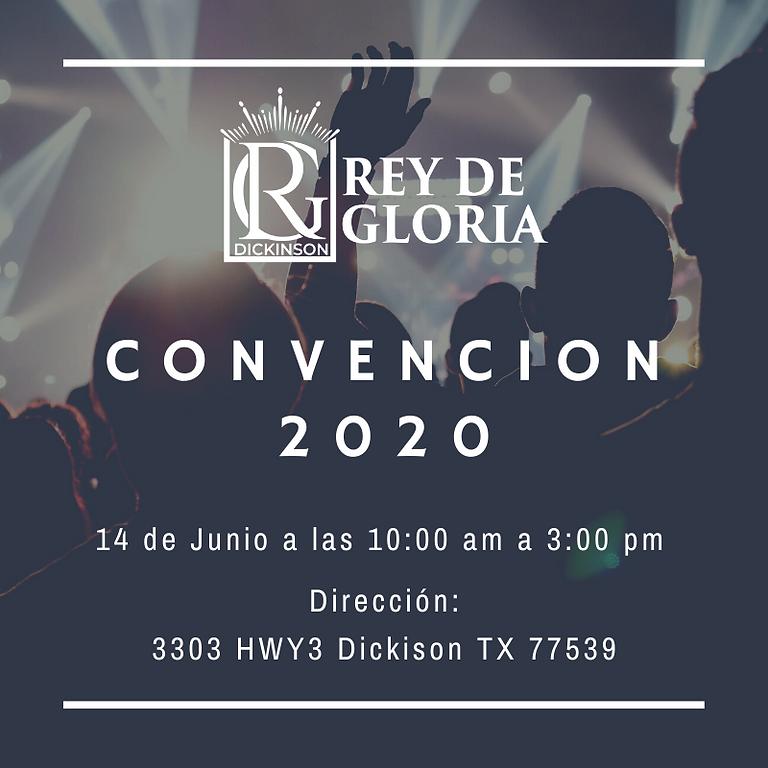 Convención Rey de Gloria 2020