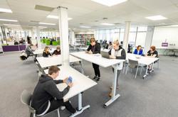 Learning Hub open space