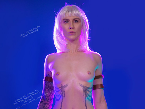 Anima from The Incal NSFW Cosplay
