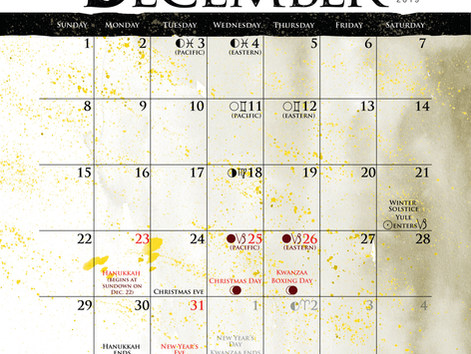 Dec Calendar page