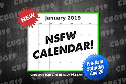 NSFW Calendar 2019 (Pre-Sale)