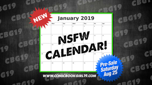 Cbu Calendar 2019 NSFW Calendar 2019 (Pre Sale)
