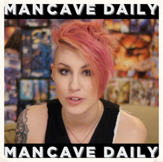 """Man Cave Daily says """"She Makes Geek Chic"""""""