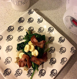 bacon spinach banana
