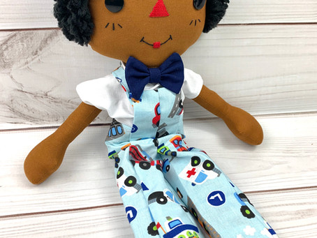 Cinnamon Andrew: A Boy Doll made for Cuddling and Fun