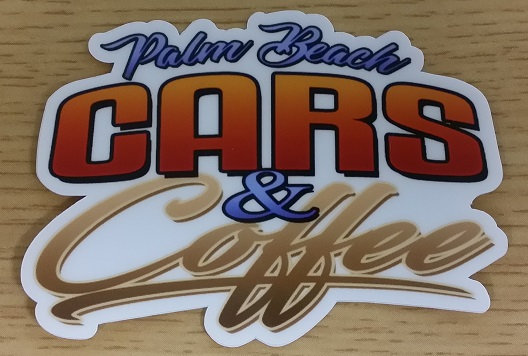Cars & Coffee Palm Beach Decal