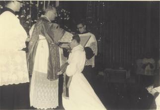 Ordenação diaconal em 1964
