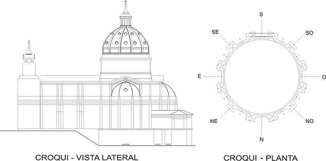Figura-2-Croqui-lateral-da-Catedral-Metr
