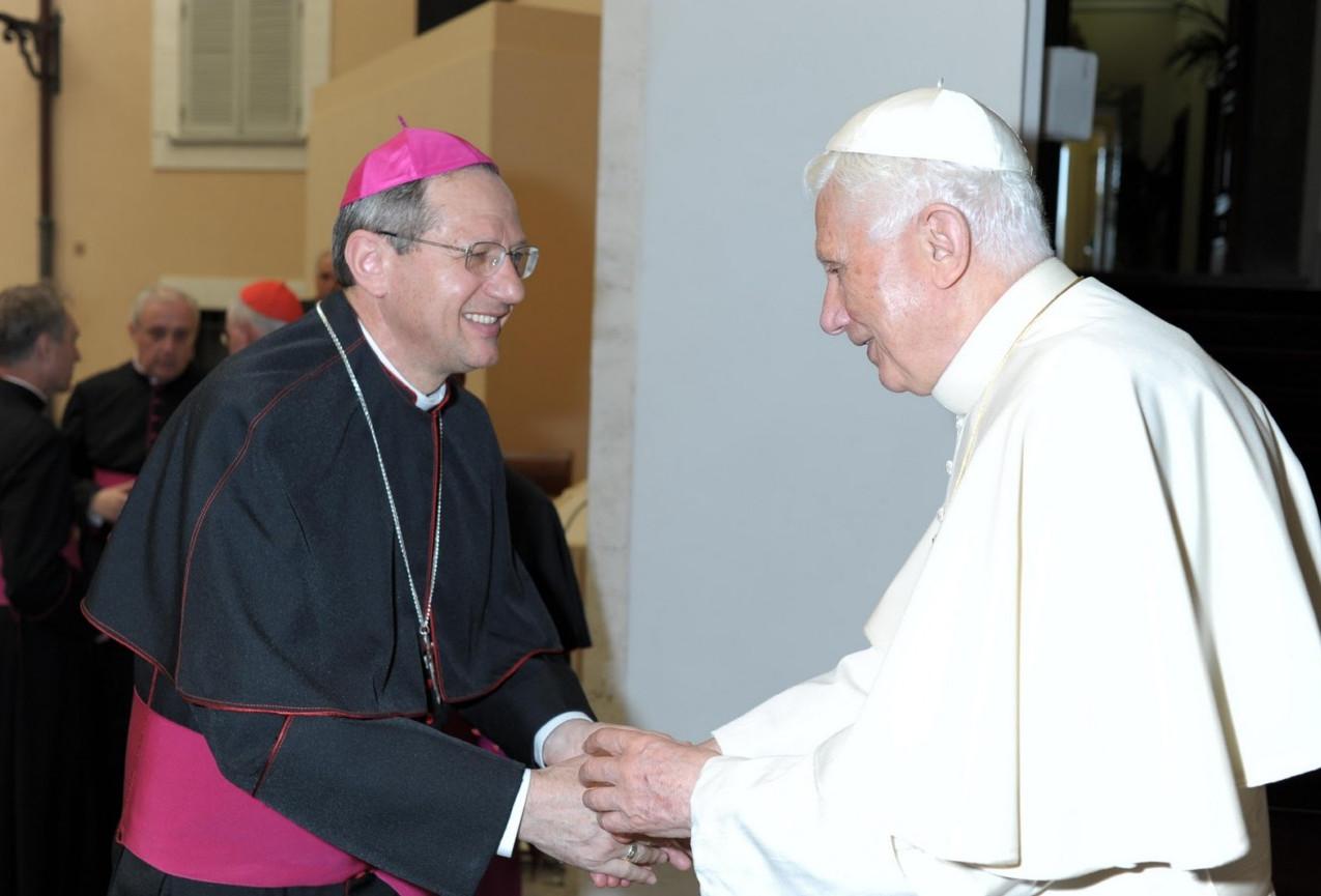 Dom Agenor com o Papa Bento XVI