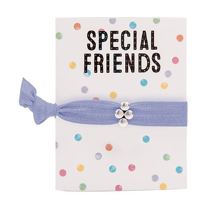 Special Friends Greeting Card Colourbands