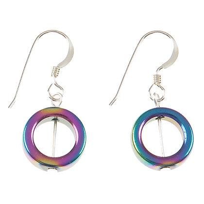Spectrum Circles Earrings