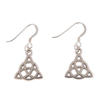 Celtic Triangle Earrings