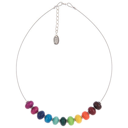 Abacus Rainbow Necklace