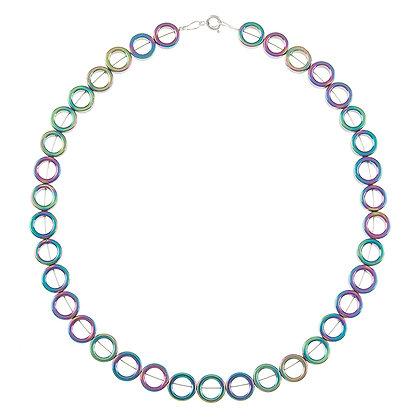 Spectrum Circles Necklace