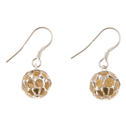 Faceted Sphere Earrings (more colours available)