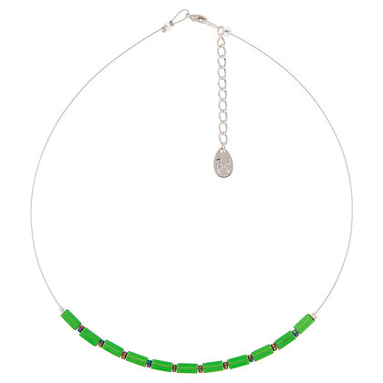 Glass Rectangles Necklace (More Colours Available)