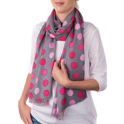 Pink Snowdon Scarf (Slightly Imperfect)