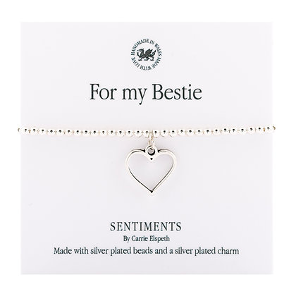 For my Bestie Sentiment Bracelet