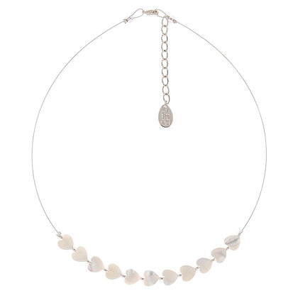 Shell Hearts Links Necklace