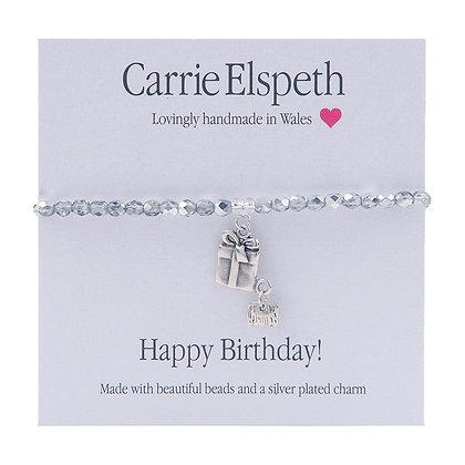 Happy Birthday! Sentiment Bracelet