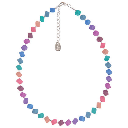 Pastel Cubic Full Necklace