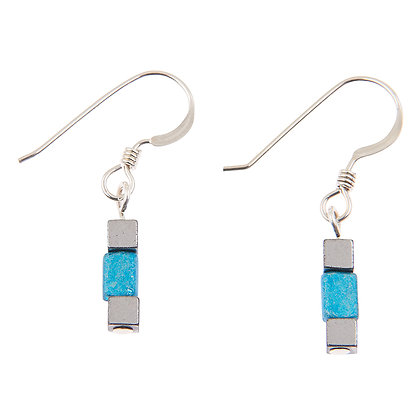 Turquoise Gleam Earrings