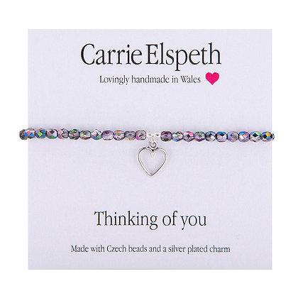 Thinking of you Sentiment Bracelet