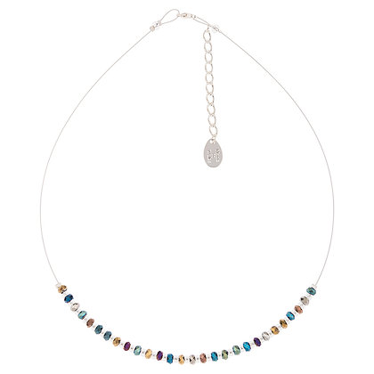 Faceted Metallics Links Necklace