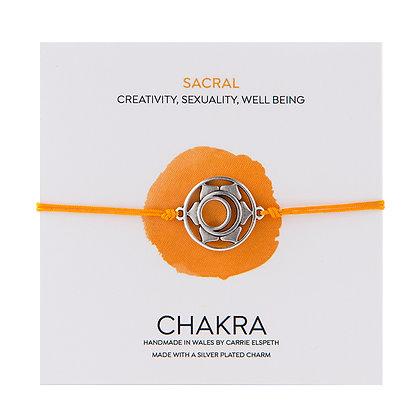 Sacral Chakra Charm Bracelet