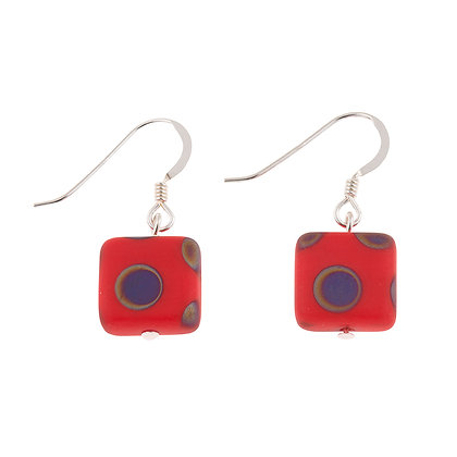 Dotty Squares Earrings (more colours available)