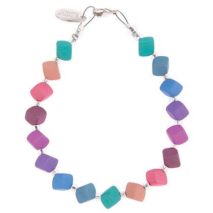 Pastel Cubic Bracelet