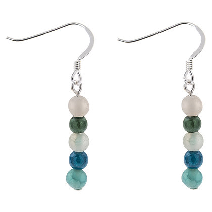 Rainbow Miracle & Agate Earrings (More Colours Available)