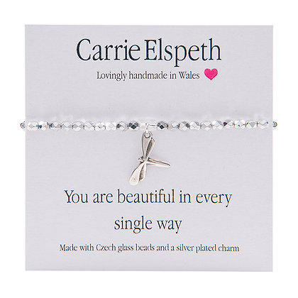 You are beautiful in every single way Sentiment Bracelet