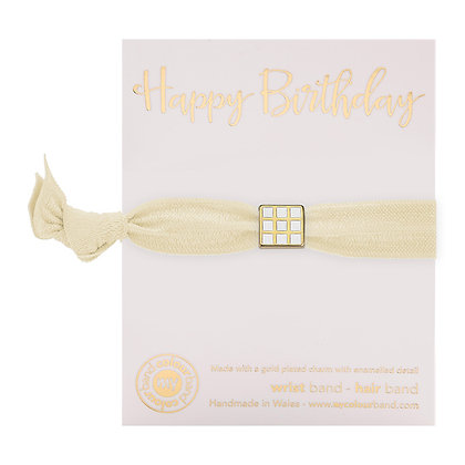 Happy Birthday Luxe Colourbands (More Colours Available)