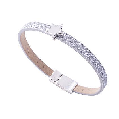 Sparkle Star Charm Bracelet (more colours available)