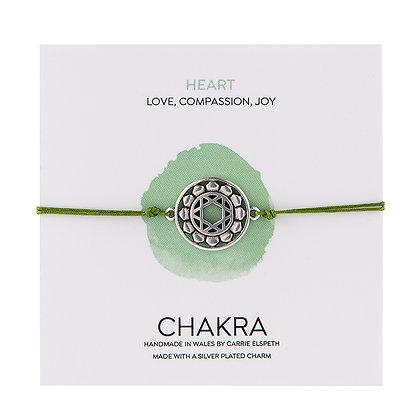 Heart Chakra Charm Bracelet