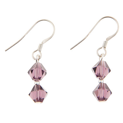 Swarovski Crystal Earrings (More Colour Available)