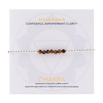 Solar Plexus Chakra Beaded Bracelet