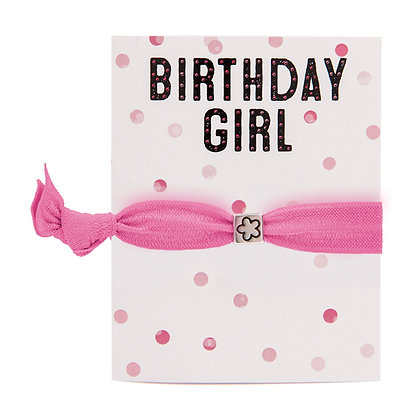 Birthday Girl Greeting Card Colourbands