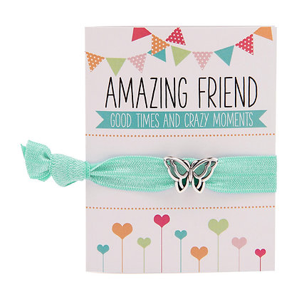 Amazing Friend Greeting Card Colourbands